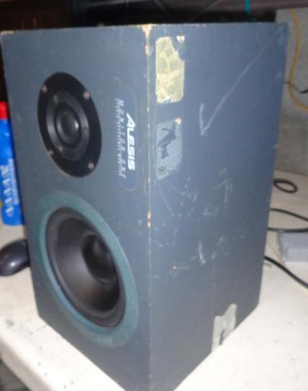Caixa Som Monitor One Alesis 4ohms 200w ( Não Funciona )