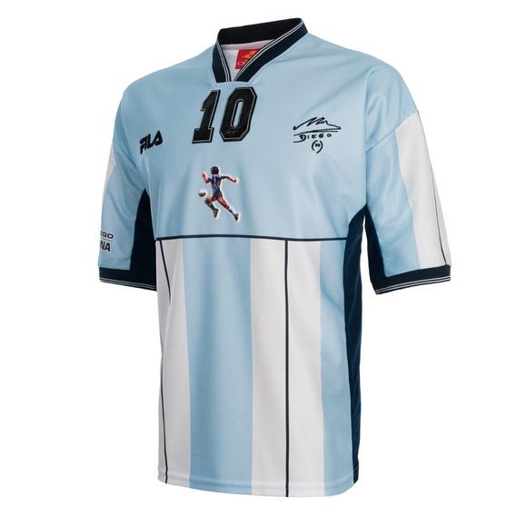 Camiseta Argentina Partido Homenaje Diego Maradona Fila 2001