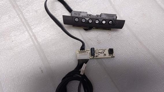 Teclado Do Painel + Sensor Do Cr Tv Cce Mod C420