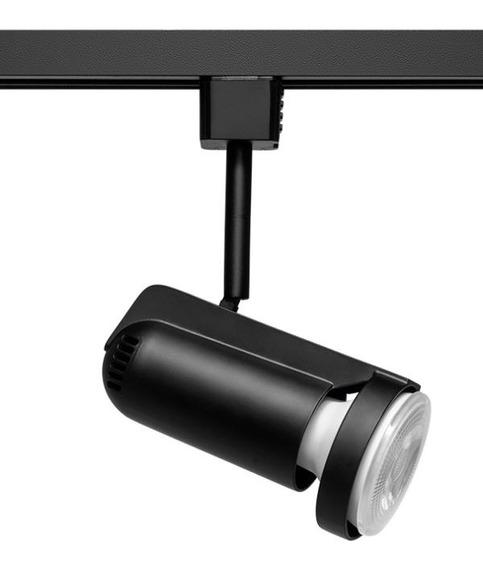 2x Spot Par20 Trilho Eletrificado Stella Preto Sd1070pto
