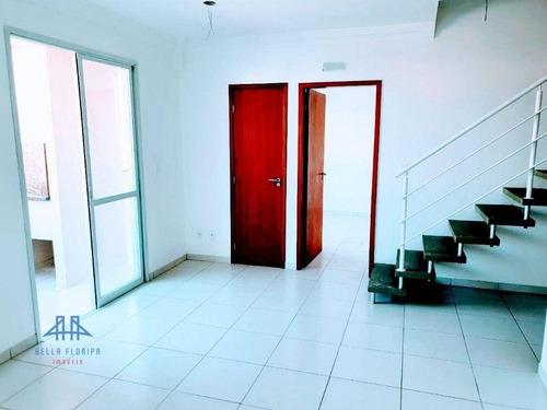 Imagem 1 de 26 de Apartamento Duplex Com 3 Dormitórios À Venda, 99 M² Por R$ 680.000,00 - Capoeiras - Florianópolis/sc - Ad0008