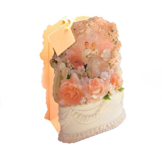 Bolsas De Regalo Set 12 Wedding Cake Dcm-142 Good And Good