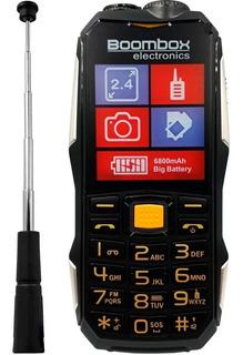 Celular Walkie Talkie Boombox P104 Uso Rudo 2.4 Dual Sim
