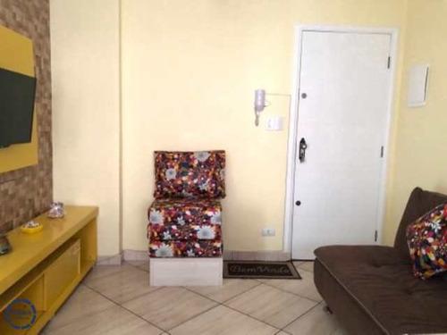 Imagem 1 de 18 de Kitnet Com 1 Dorm, Centro, São Vicente - R$ 140 Mil, Cod: 20262 - V20262