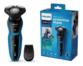 Afeitadora Electrica Philips Aquatouch S5050 Humedo Y Seco
