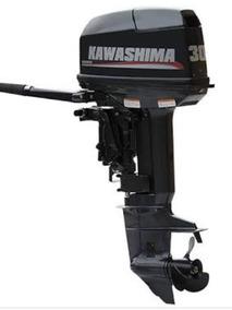 Motor De Popa Kawashima 30 Hp Partida Eletrica.