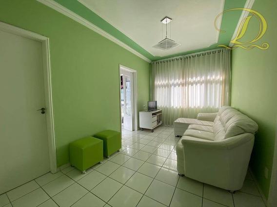 Apartamento 01 Dormitório Frente Para O Mar, Na Vila Tupi, Praia Grande - Ap3420