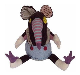 Muñeco De Peluche La Rata Ratos Deglingos