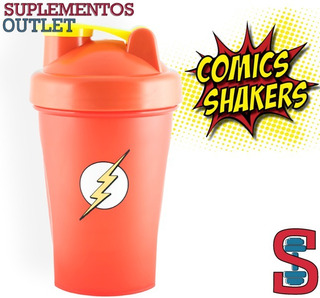 Shaker Superheroes. 400ml. Comic Shaker. Flash