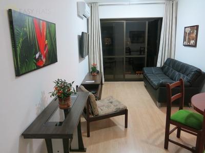 Flat Para Aluguel, 2 Dormitórios, Cerqueira César - São Paulo - 1716