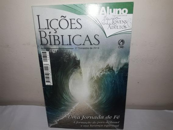 Livro Lições Bíblicas Uma Jornada De Fé