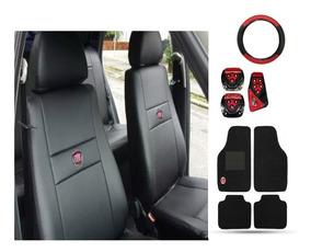 Capas Automotiva Couro Tapetes/pedaleira/volante Fiat Punto