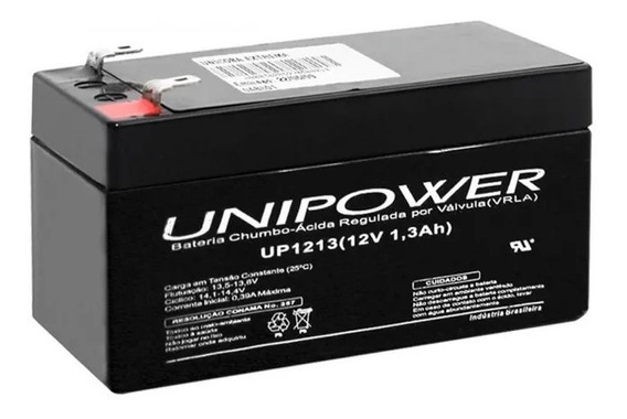 Bateria 12v 1,3ah Unipower
