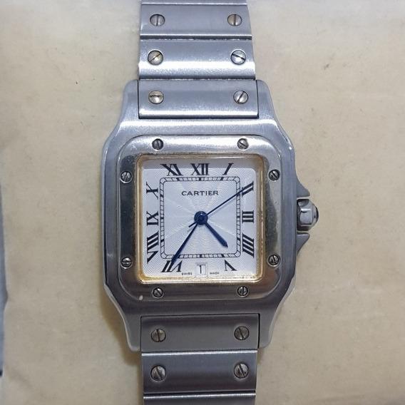 Relógio Marculino - Santos Cartier (original)