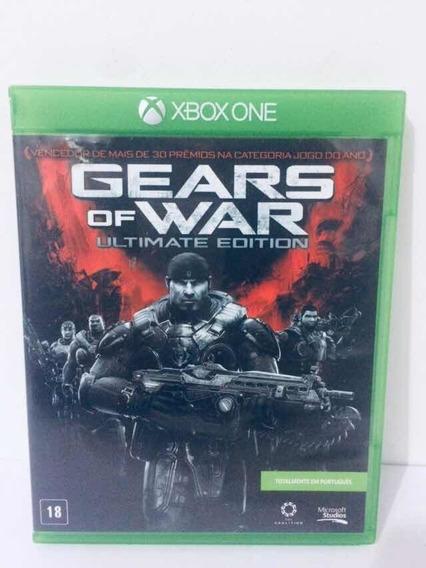 Gears Of War Ultimate Edition Xbox One Mídia Física Pr