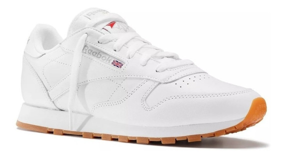 Tenis Reebok Classic Leather Blanco