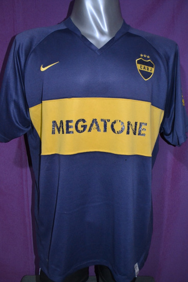 Camiseta Boca Juniors Nike, Titular Megatone 2008. Talle Xxl