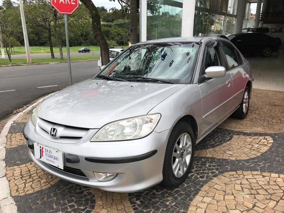 Honda Civic 1.7 Lxl Automático Gasolina Prata 2006
