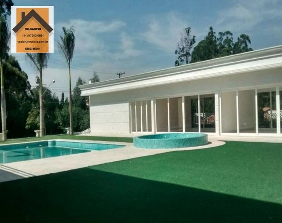Casa A Venda No Bairro Tamboré Em Barueri - Sp. - Vptb1-34-1