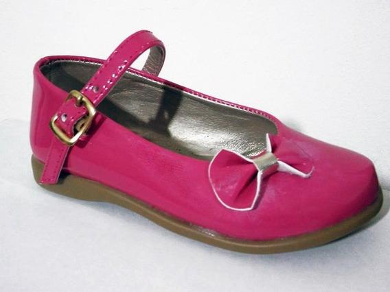 Art.01 Zapatos Guillerminas En Charol Nenas Bebes Bautismo Fiestas Cumpleaños Vestir