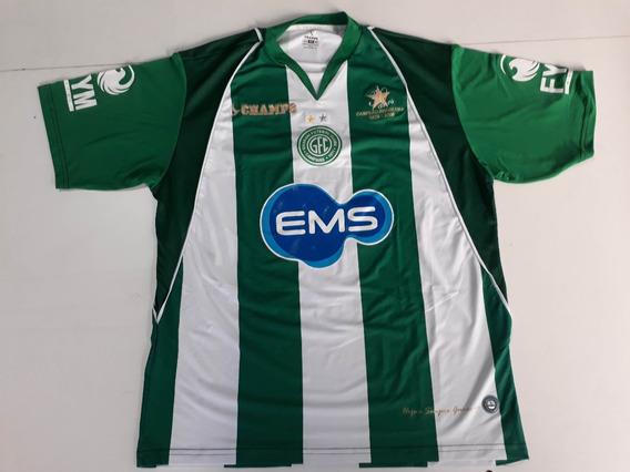 Camisa Camiseta Futebol Guarani Campinas Modelo 035