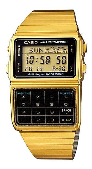 Relógio Casio Masculino Data Bank Dbc-611g-1df