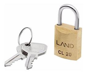 Cadeado Land Cl-20 20mm Com 2 Chaves