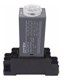 H3y-2 Rele De Tempo Temporizador Timer Com Base Citex