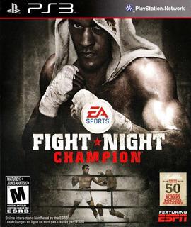 Fight Night Champion Ps3 Original Entrega Inmediata