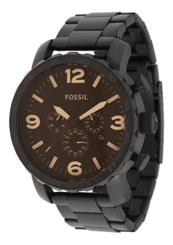 Relógio Fossil Jr1356 Cronógrafo Caixa E Pulseira Em Aço