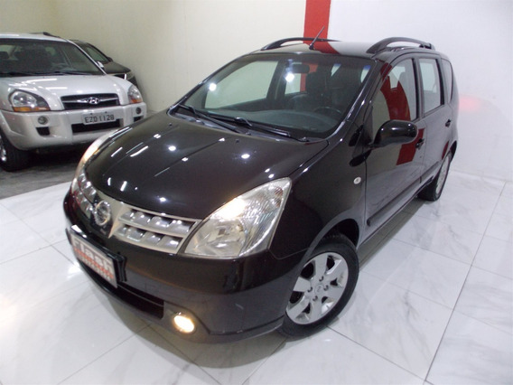 Nissan Livinia Sl 2012 1.8 Flex Automático + Couro (top)