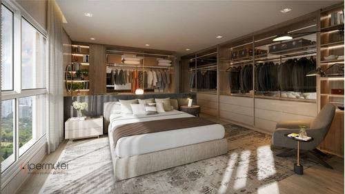 Magnifico Apartamento Com 4 Dormitórios À Venda, 233 M² - Centro - Osasco/sp - Ap1274