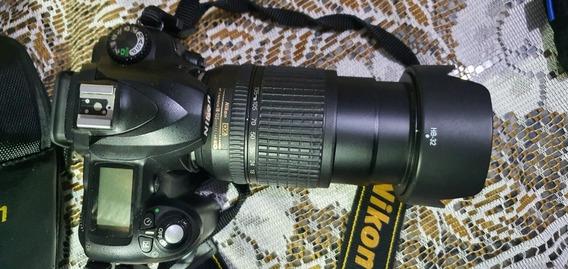 Câmera Nikon D50 + Flash Externo + Lente + Filtro Uv
