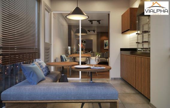Apartamento De 2 Dormitórios Com 1 Suíte, Varanda Gourmet Com Churrasqueira, 1 Vaga De Garagem, Todos Os Banheiros Com Ventilação Natural, Próximo Ao - Ap00062 - 34386947