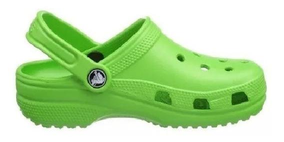 Crocs Originales Classic C10001 C001 Negro Hombre Dama