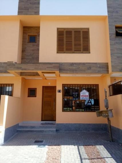 Casa Nova Três Dormitórios À Venda, Guarujá, Porto Alegre. - Ca0606