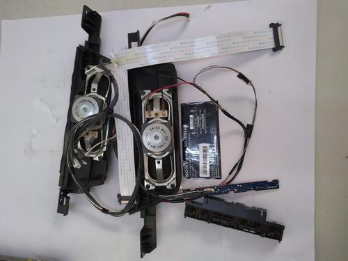 Imagem 1 de 6 de Falantes+flats+cabos+botões+pé Tv Sony 40bx405