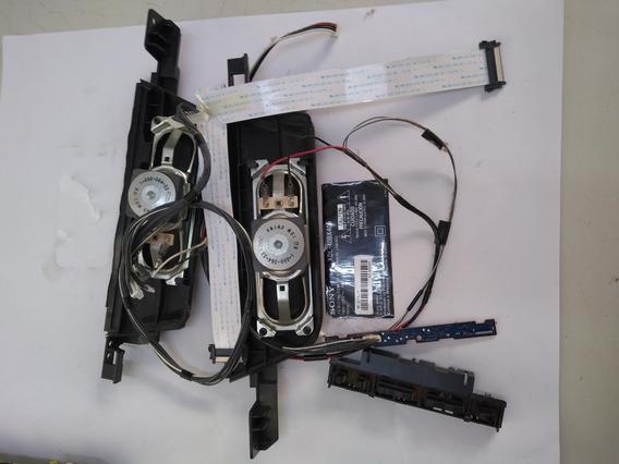 Falantes+flats+cabos+botões+pé Tv Sony 40bx405