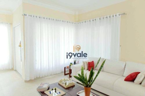 Casa Alto Padrão  Com 3 Suítes À Venda, 400 M²  - Condomínio Sunset Garden - Jacareí/sp - Ca2110