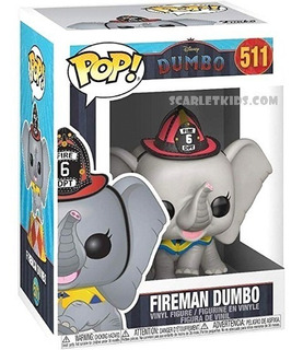 Funko Pop Dumbo Fireman 511 Original Disney Scarlet Kids
