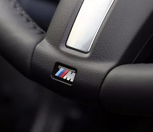 4 Emblemas Adesivo Bmw Motorsport M Mini M3 M5 X5 X6 320 325
