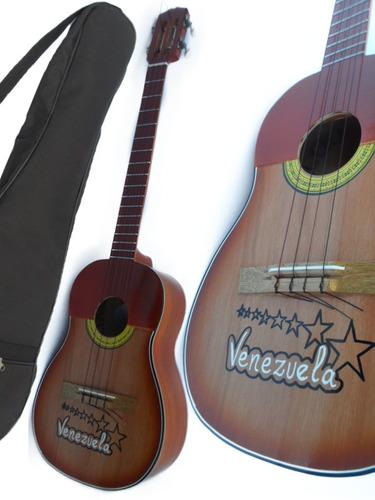 Cuatro Venezolano Profesional 17 Trastes Clavijas Y Cuerdas