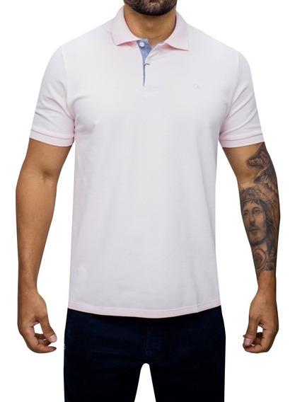 Camisas Masculinas Polo Ogochi Piquet Várias Cores