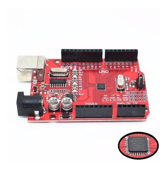 Arduino Uno Ch340 Atmega328p Red