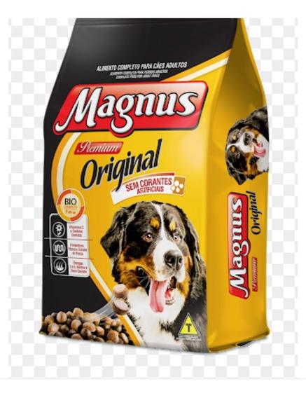 Raçao Magnus Premium Original 15 Kg Sem Corantes Artificiais