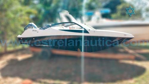 Imagem 1 de 3 de Lancha Focker 190 Barco Iate N Fishing Ventura Intermarine