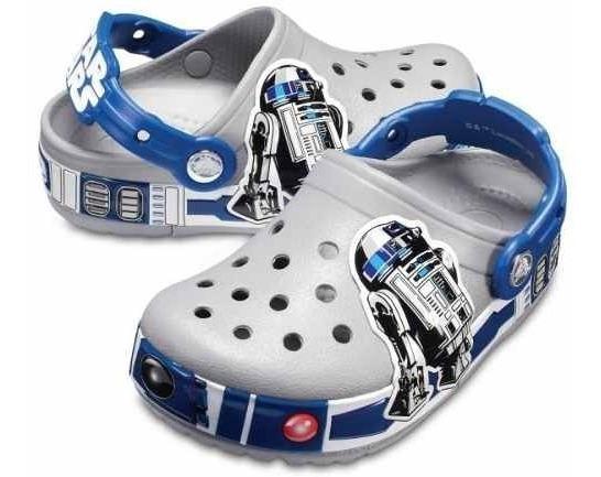 Crocband Originales Niños R2d2 Lights Clog K-lights Grey