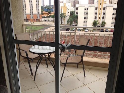 Imagem 1 de 30 de Apartamento Com 2 Dormitórios À Venda, 71 M² Por R$ 371.000,00 - Nova Aliança - Ribeirão Preto/sp - Ap3473
