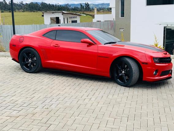 Camaro Ss 6.2 Rojo Victoria