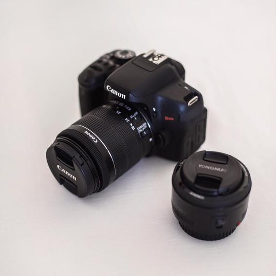 Canon Eos Rebel T6i Dslr Completa